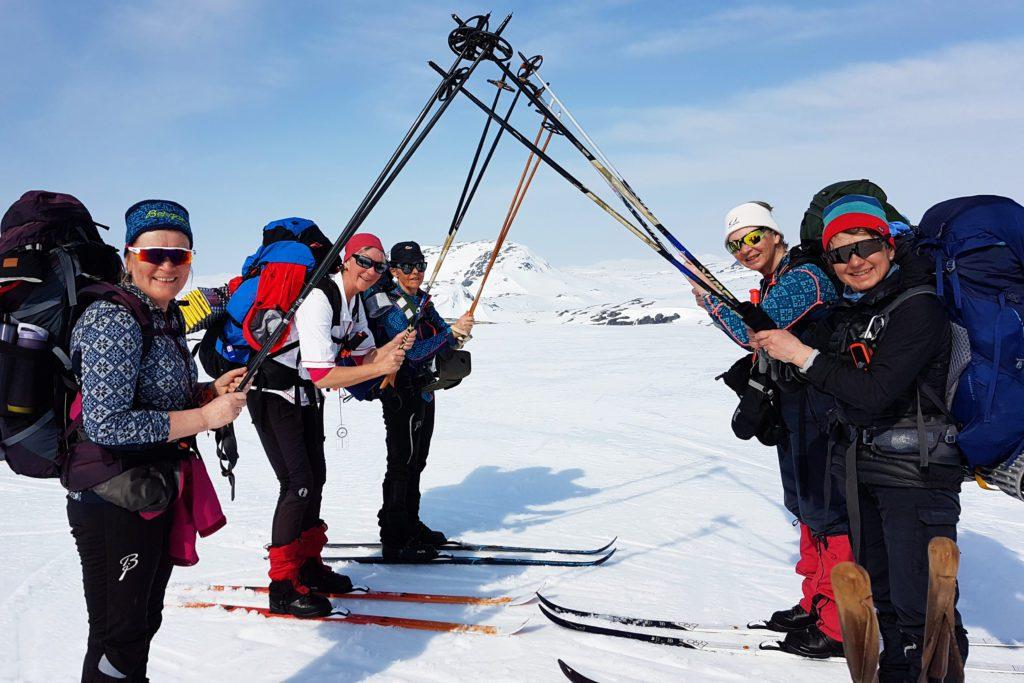 """FJELLET VENTER: Rondane og Folldal venter kvinnene som bare kaller seg """"Topphønene"""". Her fra en tidligere vintertur."""