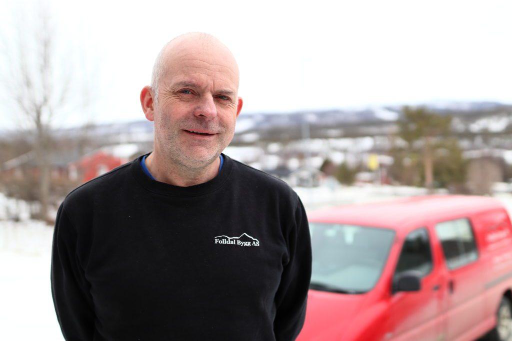 BYGG: Ove Meisal og Folldal Bygg AS driver med det meste innenfor bygg. Her forteller han om næringslivet i Folldal, utviklingen i byggnæringen og mye mer.