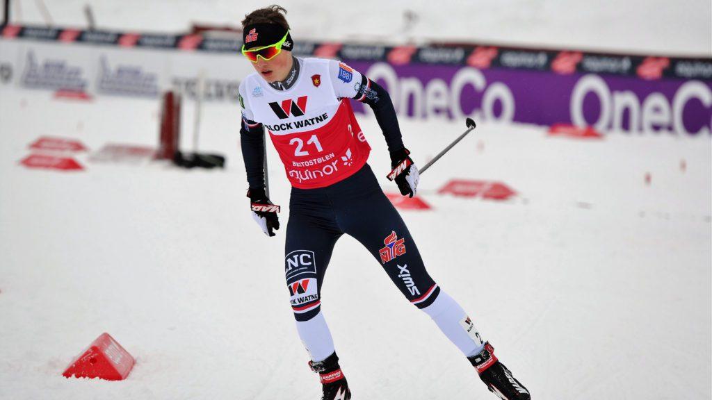 GOD: Det har vært et trøblete halvår for Per Einar Skjæret Strømhaug som har pådratt seg kyssesyken og dermed mister junior-VM.