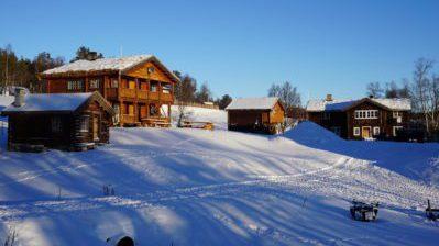 FALLET NORDRE: Gardsbruket og turiststedet ved Grimsdalen får etter all sannsynlighet nye eiere i juni. Foto: Kjetil Streitlien/ falletnordre.no