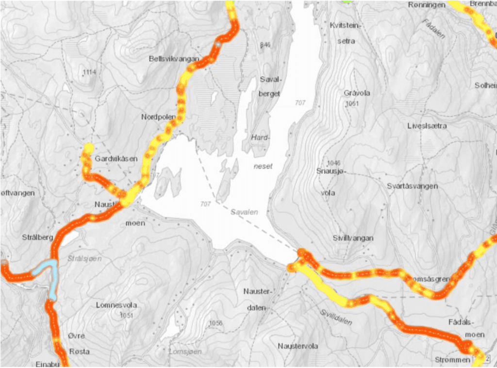 MANGLER DEKNING: Området Strømmen, Sivilldalen og Strålsjøåsen i Alvdal og Strømsåsen i Tynset. Ill: Per Westgård